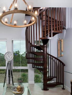 spiral staircase - isles of collier preserve naples, fl